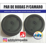 Roda Camaro R/c Eletrico 6v Bandeirante (1 Par)