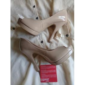 c26a051e Zapatos De Fiesta Color Nude - Stilletos de Mujer Rosa en Mercado ...