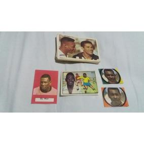 Lote Com 76 Figurinhas Do Pelé