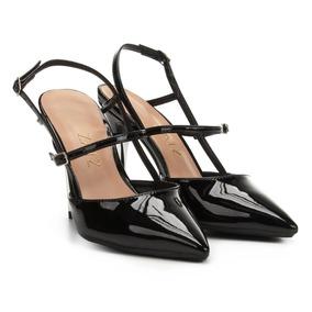 60426b1d35 Sapato Bico Metalico Feminino Scarpins - Sapatos no Mercado Livre Brasil