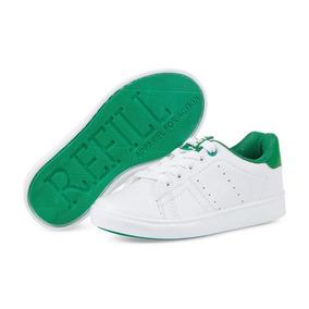 Tenis Refill Kids Blancos