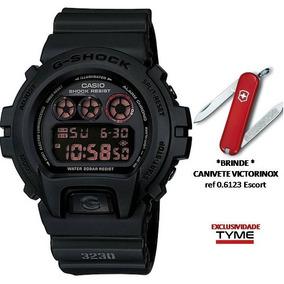 Relógio Casio Masculino G-shock Dw-6900ms-1dr + Brinde C/ Nf