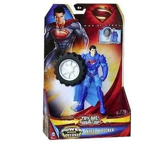 Boneco Superman Power Attack Deluxe