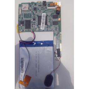 Placa Completa Com Bateria Tablet Cce Motion Tr071
