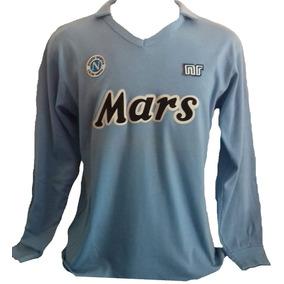 Camiseta Retro Napoli Italia Maradona 10 - Camisetas en Mercado ... 1a9a90246f948