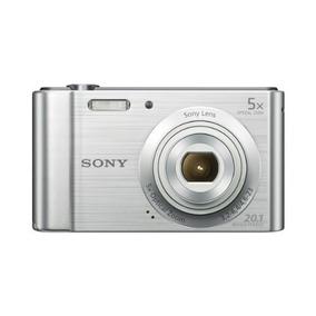 Cámara Digital Sony W800/s 20.1 Mp (plateada)