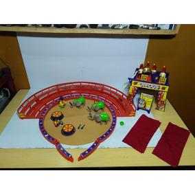 Playmobil Arena Do Circo Com Acessórios. Ler Anúncio
