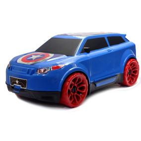 Carro Capitão América 10 Uni Brinquedo Land Evok De Heróis #