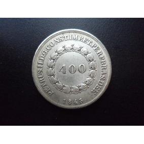 Moeda 400 Réis De 1843 - Réplica