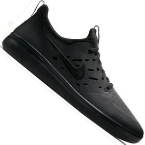 Zapatillas Nike Sb Nyjah Free Negra 360º De Agarre Skate
