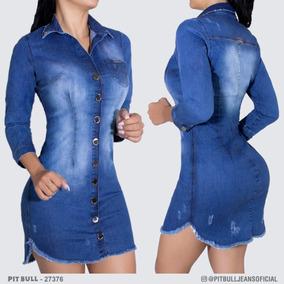 Vestido Pit Bull Jeans Original Ref.23134 - Calçados 29633c92f2e