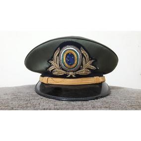 Perfeito Quepe De Oficial Do Exército Brasileiro Anos 40 Ww2 70f0aee911a