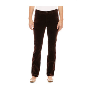 St. Johns Bay Pantalón Jeans Pana Cafe Talla 4 No Gap