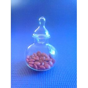 Caramelera-pastillero-bombonera De Vidrio 8 Cm-souvenirs