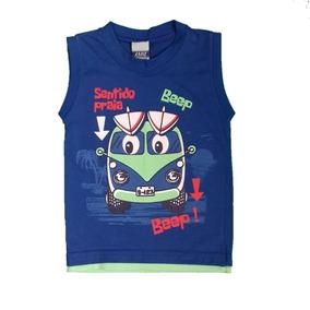 ce32cacb3a62a Camiseta Infantil Bebê Menino Estampas Diversas Tamanho 1