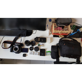 Canon T3i + Flash 430 Ex Ii + Acessórios