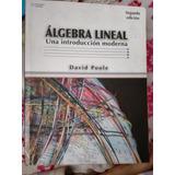 Algebra Lineal De Poole, 2a Edición