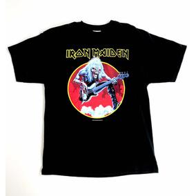 Playera Vintage 2003 Iron Maiden Autentica Hanes Heavy a331d6cd13bbc