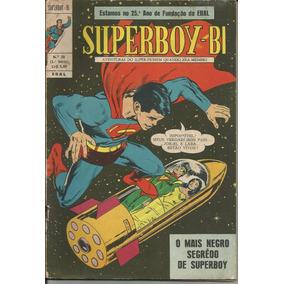 Hq Superboy-bi Nº 20 (1ª Série Ebal) 1970