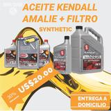 Aceite Kendall Y Amalie 10w30 20w50 Y 15w40 Mas Filtro
