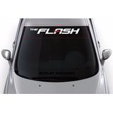 Adesivo Carro Rebaixado Faixa Parabrisa Tunado The Flash