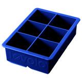 Tovolo Bandeja Para Cubos De Hielo, Grande, Azul Estrato