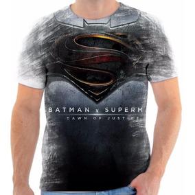 4b592e8e4 Camisa Camiseta Super Man Homem Batman Linda Versos Bonita