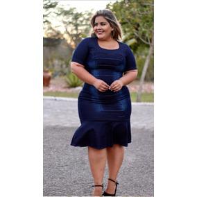 Vestido Plus Size Sereia Moda Evangélica Lançamento 2019