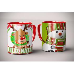 Arquivos Natal Artes Prontas - Sublimação Envio Imediato