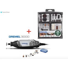 Dremel 3000 (10 Accesorios) +1 Kit De 110 Accesorio