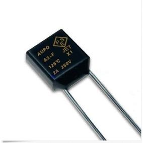 2 X Fusível Térmico Aupo A3-f De Corte Tf 125 Graus 250v 2a