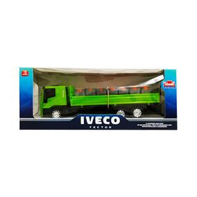Juguete Para Niños Camion Iveco Reparto Usual Brinquedos