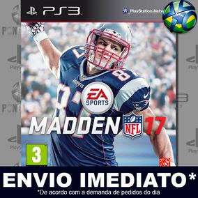 b369d31b8e Madden Nfl 17 Ps3 Midia Digital Psn Envio Imediato