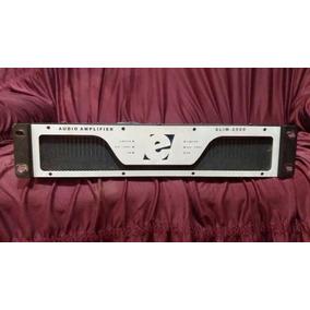 Amplificador Etelj Slim-2500 G1 Em Bom Estado Funcionando