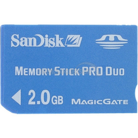 Memory Stick Pro Duo 2gb