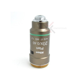 Objetivo Nikon Plan 20x Para Microscopio Series Eclipse Y Ci