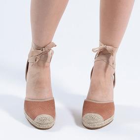 3a0df3c056 Sandalia Anabela Espadrille Feminino Bottero - Sapatos no Mercado ...