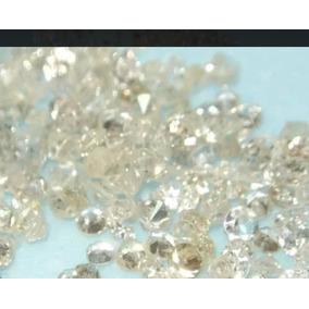 Lote De 10 Diamantes Naturais Verdadeiros- Frete Grátis