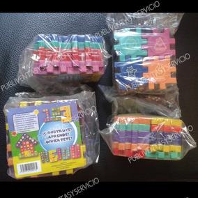 Juego Didactico Cubo 24 Piezas Armable Lego Niño Niña Regalo