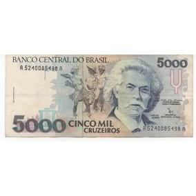 Cédula De 5000 Cruzeiros - Frete Grátis!