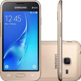 Smartphone Samsung Galaxy J1 Mini Dual Chip Dourado
