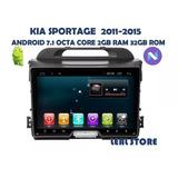 Auto Radio Android 7.1 Para Sportage 2011-2015