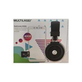 Tablet Multilaser Ms50x + Headphone Bluetooh +cartão De 32gb