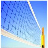 Kit Rede Vôlei 4 Lonas + 01 Bola Voleibol Trivella Oficial