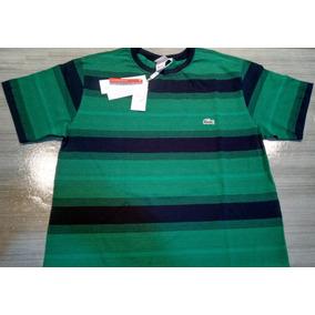 Camiseta Lacoste Modelo Novo - Camisetas e Blusas no Mercado Livre ... b7c468b8f9
