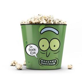 Balde De Pipoca Pickle Rick And Morty Oficial - Beek