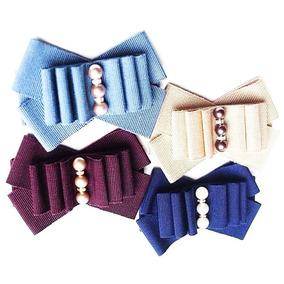 4 Broche Corbatin Prendedor Bow Brooch Colores Camafeo