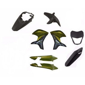 Kit Carenagem Honda Xre 300 Verde 2012 Outono Perol Promoção