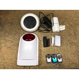 Paquete Alarma Gsm Para Casa Negocio Sistema Inalambrico 3s