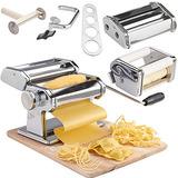 Máquina Para Hacer Pasta De Acero Inoxidable Vonshef 3 En 1